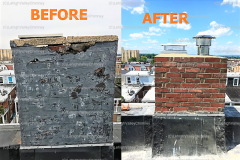 Before/After Chimney Cover and Mold 3