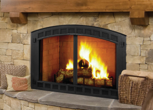 Biltmore Wood Burning Fireplace