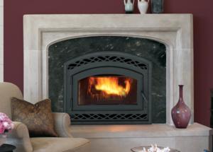Montecito Wood Burning Fireplace