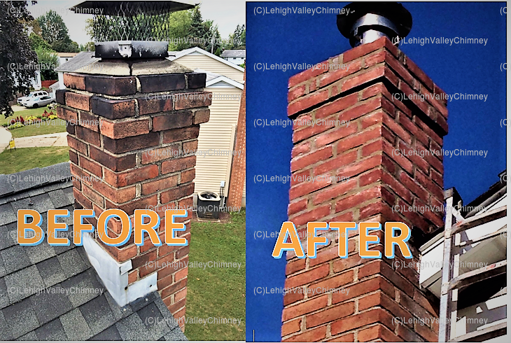 Chimney Face Lift