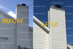 Before/After Chimney Mold 4