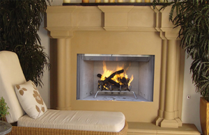 Astria Tuscan Wood Burning Fireplace