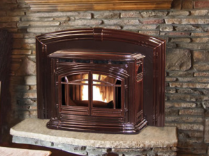 Enviro M55 Cast Iron Pellet Fireplace Insert