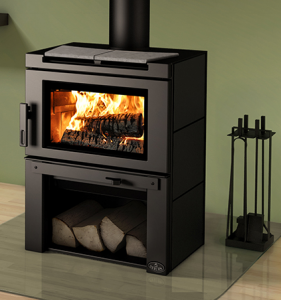 Matrix Wood Stove w . Blower