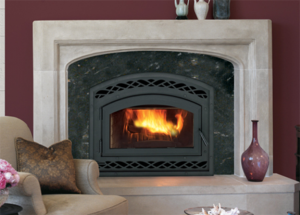 Montecito Wood Burning Fireplace
