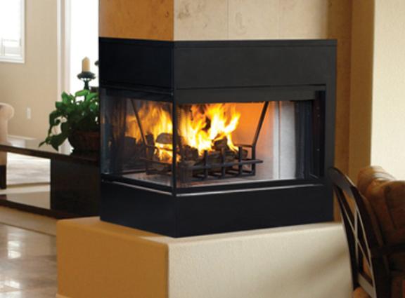 Astria Monterey Peninsula Wood Burning Fireplace Chimney