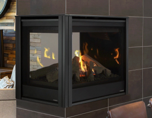 Pearl II Peninsula Direct Vent Gas Fireplace