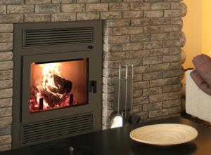 Villa Vista CD Wood Burning Fireplace